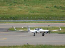 ヒロリンさんが、福島空港で撮影したアルファーアビエィション DA42 TwinStarの航空フォト(飛行機 写真・画像)