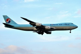 harahara555さんが、成田国際空港で撮影した大韓航空 747-8B5F/SCDの航空フォト(飛行機 写真・画像)