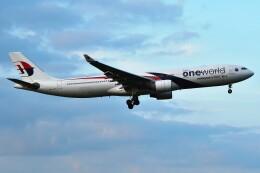 harahara555さんが、成田国際空港で撮影したマレーシア航空 A330-323Xの航空フォト(飛行機 写真・画像)