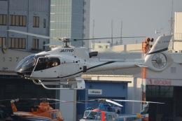あまるめさんが、東京ヘリポートで撮影したオートパンサー EC130B4の航空フォト(飛行機 写真・画像)