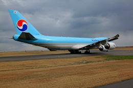 tsubameさんが、北九州空港で撮影した大韓航空 747-8B5F/SCDの航空フォト(飛行機 写真・画像)