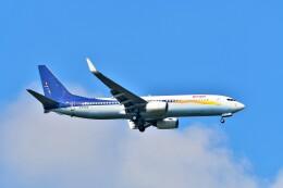 Hiro Satoさんが、スワンナプーム国際空港で撮影したスパイスジェット 737-85Rの航空フォト(飛行機 写真・画像)