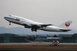 なごやんさんが、名古屋飛行場で撮影した日本航空 747-346の航空フォト(飛行機 写真・画像)