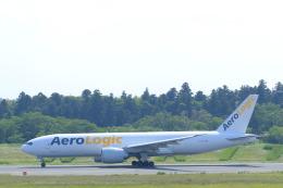 しかばねさんが、成田国際空港で撮影したアエロ・ロジック 777-FZNの航空フォト(飛行機 写真・画像)