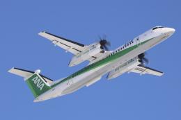 Sharp Fukudaさんが、女満別空港で撮影したANAウイングス DHC-8-402Q Dash 8の航空フォト(飛行機 写真・画像)