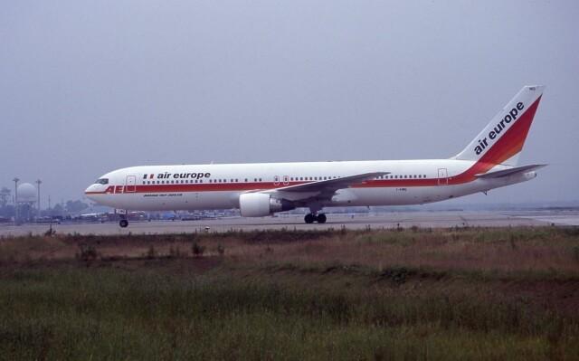 kumagorouさんが、仙台空港で撮影したエア・ヨーロッパ 767-3Q8/ERの航空フォト(飛行機 写真・画像)