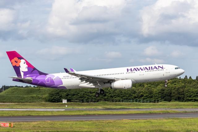 Y-Kenzoさんが、成田国際空港で撮影したハワイアン航空 A330-243の航空フォト(飛行機 写真・画像)