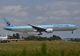雲霧さんが、成田国際空港で撮影した大韓航空 777-3B5/ERの航空フォト(飛行機 写真・画像)