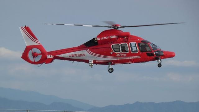 cathay451さんが、神戸空港で撮影したエアバス・ヘリコプターズ・ジャパン EC155B1の航空フォト(飛行機 写真・画像)