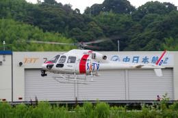 apphgさんが、静岡ヘリポートで撮影した東邦航空 AS355Nの航空フォト(飛行機 写真・画像)