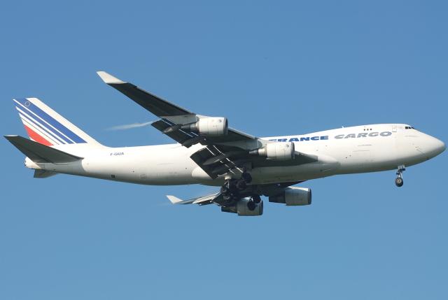 jun☆さんが、成田国際空港で撮影したエールフランス航空 747-428F/ER/SCDの航空フォト(飛行機 写真・画像)