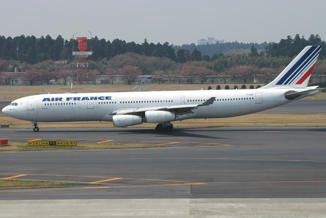 jun☆さんが、成田国際空港で撮影したエールフランス航空 A340-313Xの航空フォト(飛行機 写真・画像)