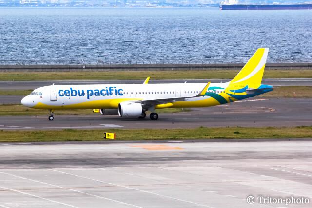 triton@blueさんが、中部国際空港で撮影したセブパシフィック航空 A321-271NXの航空フォト(飛行機 写真・画像)