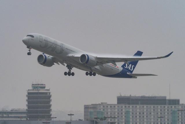 LAX Spotterさんが、ロサンゼルス国際空港で撮影したスカンジナビア航空 A350-941の航空フォト(飛行機 写真・画像)