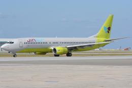 jun☆さんが、那覇空港で撮影したジンエアー 737-86Nの航空フォト(飛行機 写真・画像)