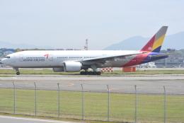 jun☆さんが、福岡空港で撮影したアシアナ航空 777-28E/ERの航空フォト(飛行機 写真・画像)