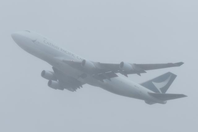 木人さんが、成田国際空港で撮影したキャセイパシフィック航空 747-467F/ER/SCDの航空フォト(飛行機 写真・画像)