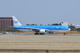 ポン太さんが、成田国際空港で撮影したKLMオランダ航空 777-206/ERの航空フォト(飛行機 写真・画像)