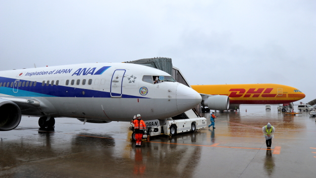 誘喜さんが、中部国際空港で撮影した全日空 737-781の航空フォト(飛行機 写真・画像)