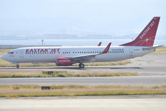 jun☆さんが、関西国際空港で撮影したイースター航空 737-8FZの航空フォト(飛行機 写真・画像)