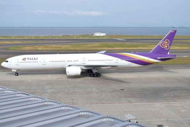 jun☆さんが、中部国際空港で撮影したタイ国際航空 777-3D7の航空フォト(飛行機 写真・画像)