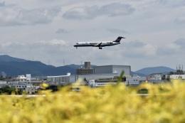 東亜国内航空さんが、伊丹空港で撮影したアイベックスエアラインズ CL-600-2C10(CRJ-702)の航空フォト(飛行機 写真・画像)