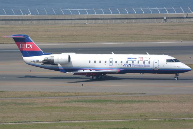 jun☆さんが、中部国際空港で撮影したアイベックスエアラインズ CL-600-2B19 Regional Jet CRJ-200ERの航空フォト(飛行機 写真・画像)
