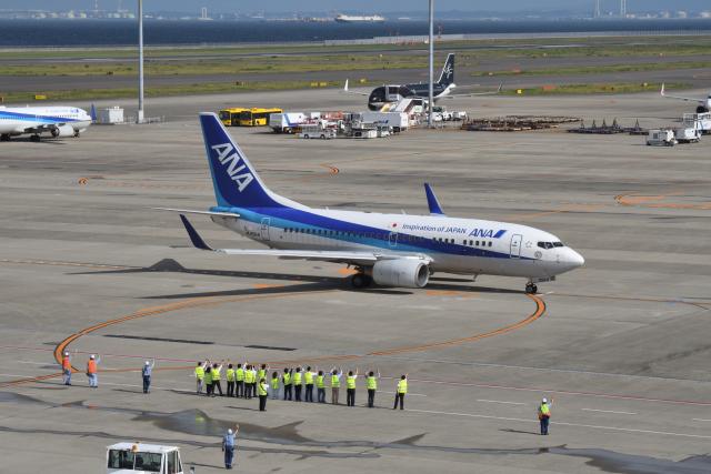 EC5Wさんが、中部国際空港で撮影した全日空 737-781の航空フォト(飛行機 写真・画像)