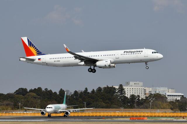 ポン太さんが、成田国際空港で撮影したフィリピン航空 A321-231の航空フォト(飛行機 写真・画像)