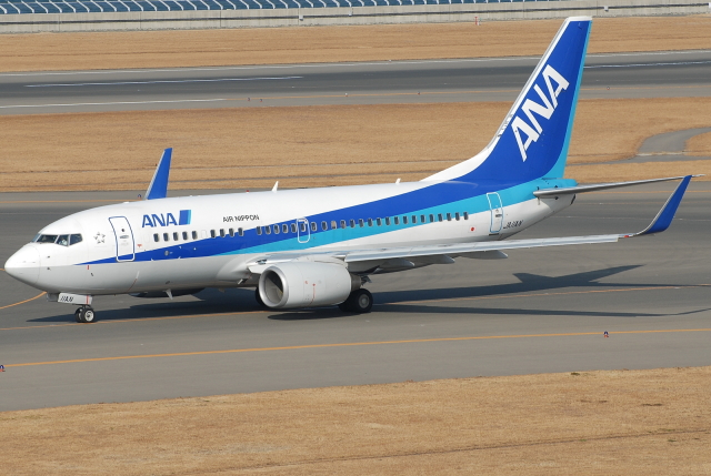 jun☆さんが、中部国際空港で撮影した全日空 737-781の航空フォト(飛行機 写真・画像)