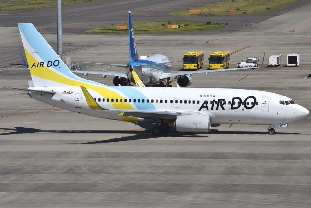 jun☆さんが、中部国際空港で撮影したAIR DO 737-781の航空フォト(飛行機 写真・画像)
