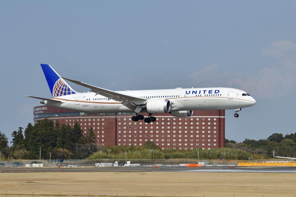 ポン太さんのユナイテッド航空 Boeing 787-9 (N24974) 航空フォト
