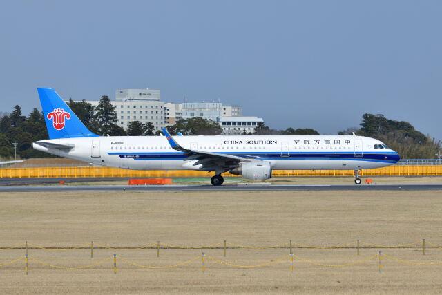 ポン太さんが、成田国際空港で撮影した中国南方航空 A321-211の航空フォト(飛行機 写真・画像)