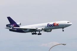 青春の1ページさんが、関西国際空港で撮影したフェデックス・エクスプレス MD-11Fの航空フォト(飛行機 写真・画像)