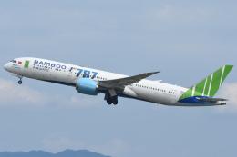 sachiさんが、関西国際空港で撮影したバンブー・エアウェイズ 787-9の航空フォト(飛行機 写真・画像)