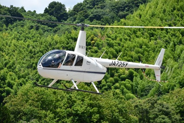 ブルーさんさんが、静岡ヘリポートで撮影した日本法人所有 R44 IIの航空フォト(飛行機 写真・画像)