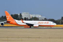 ポン太さんが、成田国際空港で撮影したチェジュ航空 737-8Q8の航空フォト(飛行機 写真・画像)