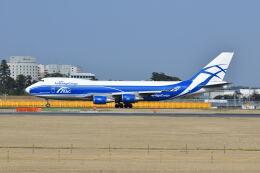 ポン太さんが、成田国際空港で撮影したエアブリッジ・カーゴ・エアラインズ 747-46NF/ER/SCDの航空フォト(飛行機 写真・画像)