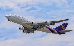 航空フォト:HS-TGF タイ国際航空 747-400