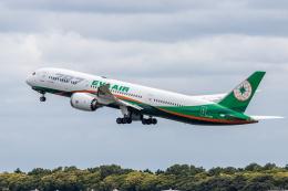 Y-Kenzoさんが、成田国際空港で撮影したエバー航空 787-9の航空フォト(飛行機 写真・画像)