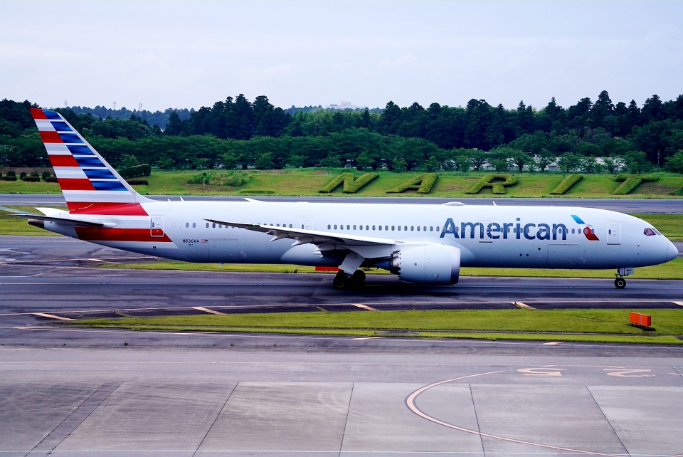 SFJ_capさんのアメリカン航空 Boeing 787-9 (N836AA) 航空フォト