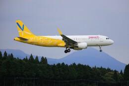 EosR2さんが、鹿児島空港で撮影したバニラエア A320-214の航空フォト(飛行機 写真・画像)