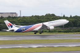 airdrugさんが、成田国際空港で撮影したマレーシア航空 A330-323Xの航空フォト(飛行機 写真・画像)