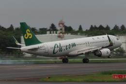 木人さんが、成田国際空港で撮影した春秋航空 A320-214の航空フォト(飛行機 写真・画像)