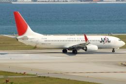 jun☆さんが、関西国際空港で撮影した日本航空 737-846の航空フォト(飛行機 写真・画像)