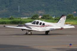 F.YUKIHIDEさんが、岡南飛行場で撮影した岡山航空 G58 Baronの航空フォト(飛行機 写真・画像)