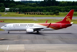 SFJ_capさんが、成田国際空港で撮影した深圳航空 737-86Nの航空フォト(飛行機 写真・画像)