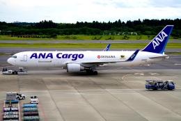 SFJ_capさんが、成田国際空港で撮影した全日空 767-316F/ERの航空フォト(飛行機 写真・画像)