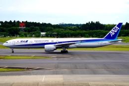SFJ_capさんが、成田国際空港で撮影した全日空 777-381/ERの航空フォト(飛行機 写真・画像)