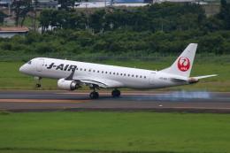 ▲®さんが、仙台空港で撮影したジェイエア ERJ-190-100(ERJ-190STD)の航空フォト(飛行機 写真・画像)